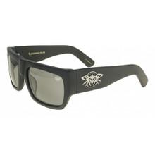 Black Flys Casino Fly Sunglasses - Matte Black - Smoke Polarized Lenses