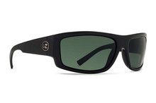 Von Zipper Semi Sunglasses - Black Gloss - Vintage Grey