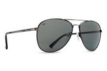 Von Zipper Farva Sunglasses - Antique Charcoal - Grey Poly Polar - FAR-CPP
