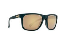 Von Zipper Lomax Sunglasses - Black Satin - Gold Polar - LOM-BDP