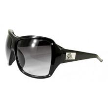 Flygirls On The Fly Sunglasses - Shiny Black - Smoke Gradient