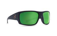Von Zipper Suplex Sunglasses - Black Satin - Wildlife Green Glass - Polar - SUP-PGG