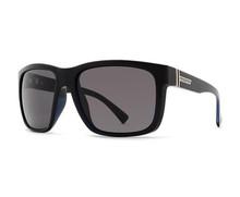 Von Zipper Maxis Sunglasses - Black Gloss - Vintage Grey -  MAX-BKV