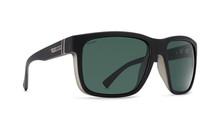 Von Zipper Maxis Sunglasses - Black Smoke Satin - Vintage Grey Polar -  MAX-PSV