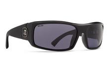 Von Zipper Kickstand Sunglasses - Black Gloss - WL Vintage Grey Polar - KIC-PBV