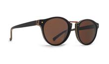 Von Zipper Stax Sunglasses - Black Wood Satin - Bronze - STA-BWB