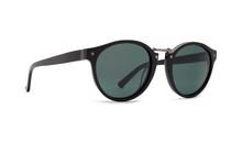 Von Zipper Stax Sunglasses - Black - Vintage Grey - STA-BKV