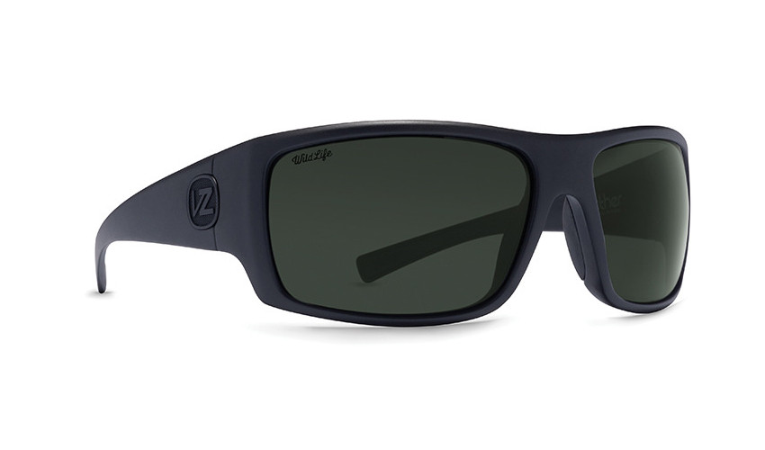 7ef892727d Von Zipper Suplex Sunglasses - Black Smoke Satin - Vintage Grey Polar -  SUP-PSV