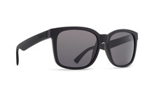 Von Zipper Howl Sunglasses - Black Satin - Grey - HOW-BKS