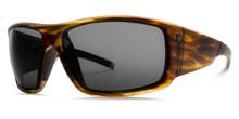 Electric Backbone S Sunglasses - Matte Olive Tortoise - M Grey - 147-58020