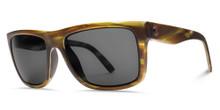 Electric Swingarm S Sunglasses - Matte Olive Tortoise - M Grey - 152-58020