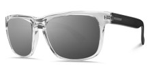Electric Knoxville Sunglasses - Crystal Black - M Grey Silver Chrome - 90-58921