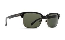 VonZipper Mayfield Sunglasses - Black Gloss - Vintage Grey - MAY-BKV - New