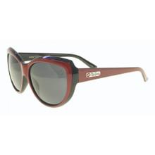 Flygirls Kissy Fly Sunglasses - Red-Black - Polarized Smoke Lenses - New