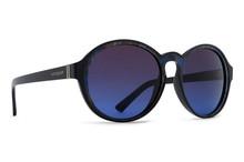 Von Zipper Lula Sunglasses - Black Color Swirl - Brown Blue Gradient - LUL-SBB