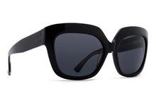 Von Zipper Poly Sunglasses - Black Glitter - Grey - POL-GIB
