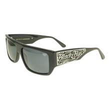 Black Flys Sci Fly 6 Sunglasses - Shiny Black - Smoke Polarized - New