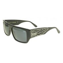 Black Flys Sci Fly 7 Sunglasses - Shiny Black - Smoke - New