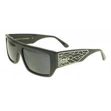 Black Flys Sci Fly 7 Sunglasses - Shiny Black - Smoke Polarized - New