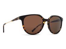 Von Zipper Hyde Sunglasses - Tortoise Gloss - Gold Satin - Bronze - HYD-TGB