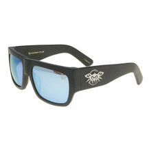 Black Flys Casino Fly Sunglasses - Matte Black - Blue Mirror
