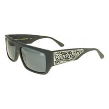 Black Flys Sci Fly 6 Sunglasses - Matte Black - Smoke Polarized