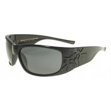 Black Flys Sonic 2 Floating Sunglasses - Shiny Black - Smoke Polarized