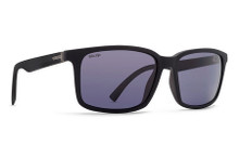 Von Zipper Pinch Sunglasses - Black Satin - Wild Vint Grey Polar - PIN-PSV