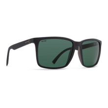 Von Zipper Lesmore Sunglasses - Black Satin - Wild Vintage Grey Polar - LES-PSV