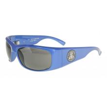 Black Flys Fly Ballistics Sunglasses - Metallic Blue - Smoke Polar ANSI Certified