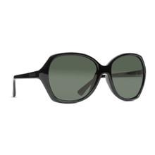 Von Zipper Bloom Sunglasses - Black Gloss - Vintage Grey - BLO-BKV