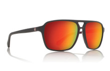 Dragon Passport Sunglasses - Matte Magnet - Grey