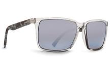 Von Zipper Lesmore Sunglasses - Crystal Quartz - Grey Silver Chrome Gradient - LES-CQZ