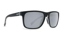 Von Zipper Lomax Sunglasses - Black Satin - Silver - LOM-BKN