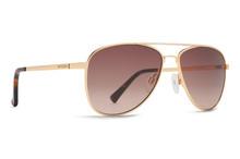 Von Zipper Statey Sunglasses - Gold Gloss - Brown Gradient - STA-GBG