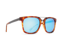 Von Zipper Plimpton Sunglasses - Havana Tortoise - Ice Blue Chrome - PLI-TIH