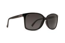 Von Zipper Castaway Sunglasses - Black Gloss - Grey Poly Pol - CAS-BPP