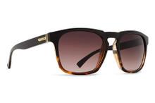 Von Zipper Banner Sunglasses - Tortoise Black - Brown Grad - BAN-TBK
