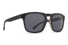 Von Zipper Banner Sunglasses - Black Satin - Grey - BAN-BKS