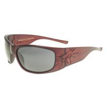Black Flys Sonic 2 Floating Sunglasses - Matte Red - Smoke Polar