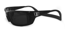 Hoven Meal Ticket Sunglasses - Black Gloss/Grey Polarized