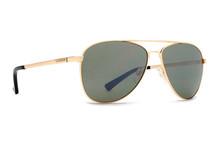 Von Zipper Statey Sunglasses - Gold Gloss - Vintage Grey - STA-GGN