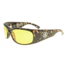 Black Flys Fly Ballistics Safety Glasses - Tortoise Frame - Yellow Lenses - ANSI Certified