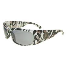 Black Flys Fly Ballistics Sunglasses - Camo Print - Smoke - ANSI Certified