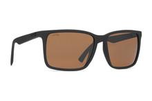 Von Zipper Lesmore Sunglasses - Black Soft Satin - Wild Bronze Polar - LES-PSZ