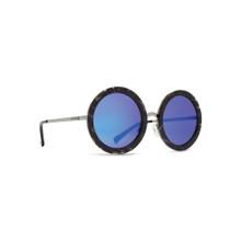 Von Zipper Fling Sunglasses - Black Tort - Blue Chrome - FLI-BTB