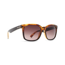Von Zipper Howl Sunglasses - Reverse Black Tortoise - Brown Gradient - HOW-TKD