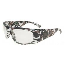Black Flys Ballistic Fly Glasses - Camo Print - Clear Lenses