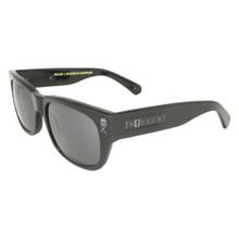 Black Flys Sullen 2 Sunglasses - Black Chrome Logos - Shiny Black - Polar