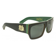 Black Flys Pulse Fly Sunglasses - Steel Pulse Collab - Smoke Lens